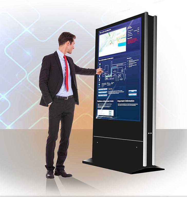 Kiosck multimédia borne interactive